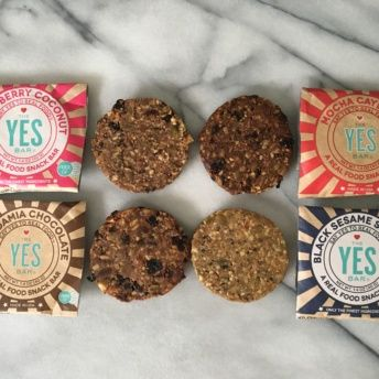 Paleo bars from The Yes Bar