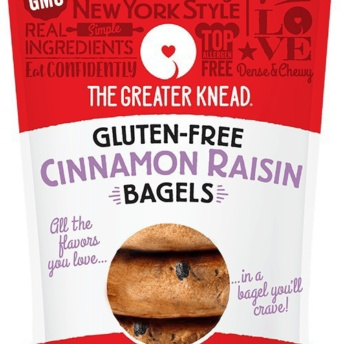 Gluten-free cinnamon raisin bagels by The Greater Knead