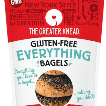 Gluten-free everything bagels from The Greater Knead