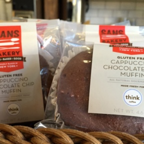 Gluten-free muffins from Think Coffee