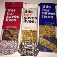 Gluten-free bars from This Bar Saves Lives