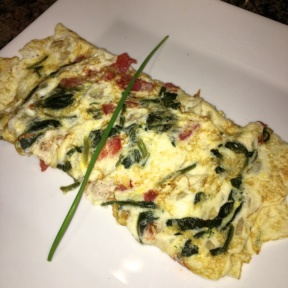 Gluten-free omelette from Three Guys Restaurant