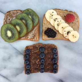 3 Gluten-Free Toasts with Three Nut Butters_3
