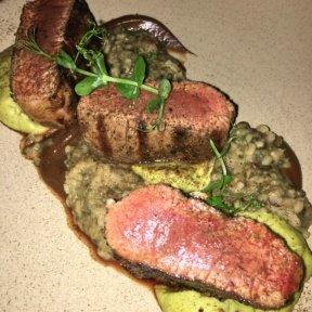 Gluten-free steak from Timna