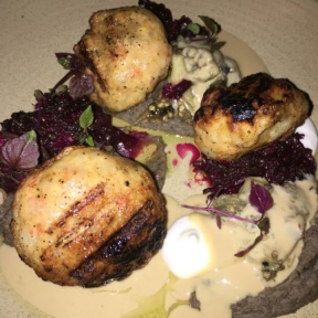 Gluten-free entree from Timna