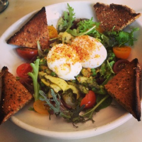Gluten-free egg dish from Tipsy Parson