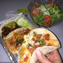 Gluten-free tacos from Toloache
