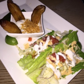 Gluten-free lettuce tacos from Tommy Bahama Restaurant & Bar