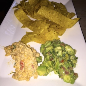 Gluten-free guacamole and chips from Tommy Bahama Restaurant & Bar