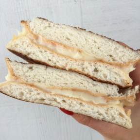 Gluten-free grilled cheese from Top Round Roast Beef