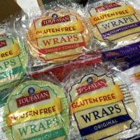 Gluten-free wraps from Toufayan