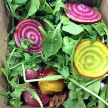 Gluten-free beet salad from Trading Post