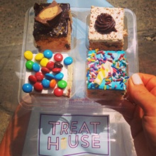 Gluten-free rice krispie treats from Treat House