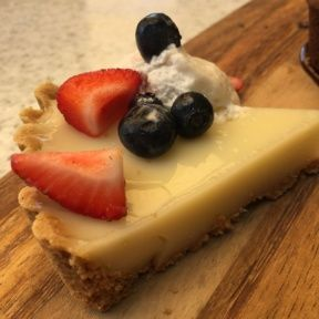 Gluten-free tart from True Food Kitchen