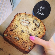 Gluten-free banana bread from Two Hands Cafe