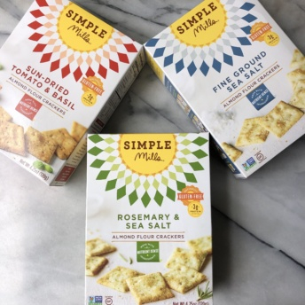 Gluten-free crackers by Simple Mills
