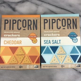 Gluten-free crackers by Pipsnacks