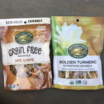 Gluten-free granolas by Nature's Path