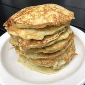 Gluten-free dairy-free Two Ingredient Pancakes