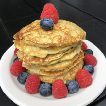 Gluten-free Two Ingredient Pancakes