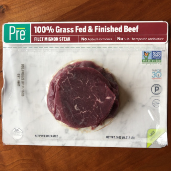 Gluten-free grass-fed beef by PRE Brands
