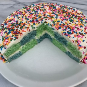 An inside look at Checkerboard Cake