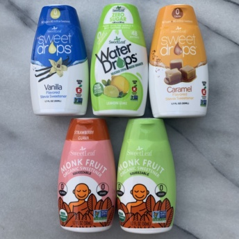 Sweet drops and water drops by SweetLeaf