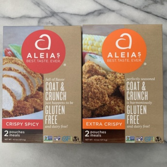 Gluten-free bread crumbs by Aleia's
