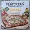 Gluten-free cheese trio & tomato sauce pizza by American Flatbread