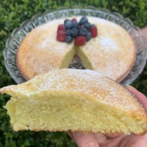 Gluten-free dairy-free Olive Oil Cake