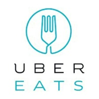 Logo for Uber Eats a food delivery service
