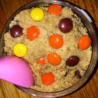Gluten-free cookie dough from Unbaked Bar