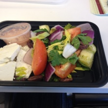Gluten-free Greek salad from Union Bar & Kitchen