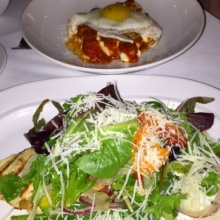 Gluten-free salad and pasta from Union Square Cafe