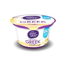 Gluten-free yogurt by Dannon Light & Fit Yogurt