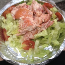 Gluten-free lobster salad from Urban Lobster Shack