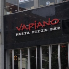 Vapiano in Greenwich Village NYC