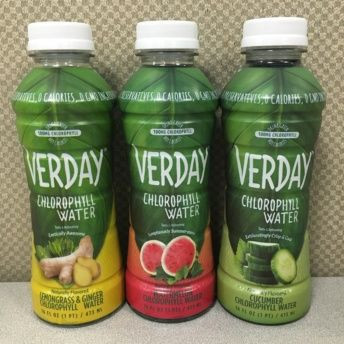 Water by Verday Chlorophyll Water