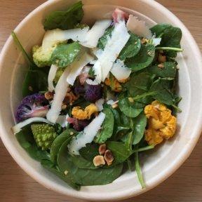 Gluten-free cauliflower salad from Verde