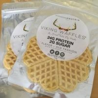 Gluten-free protein waffles from Viking Waffles