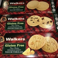 Gluten-free cookies by Walker Shortbread