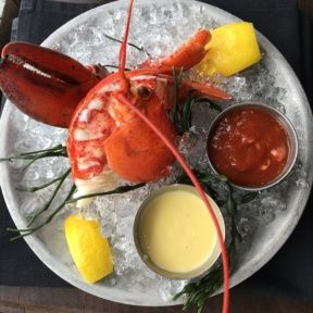 Gluten-free lobster cocktail from Water Grill