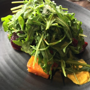 Gluten-free beet salad from Water Grill