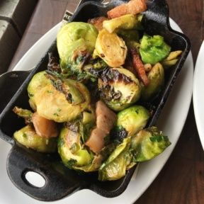 Gluten-free brussels sprouts from Water Grill
