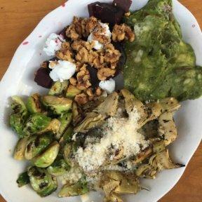 Gluten-free market veggies from Westville