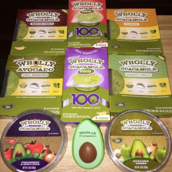 Gluten-free guacamole from Wholly Guacamole