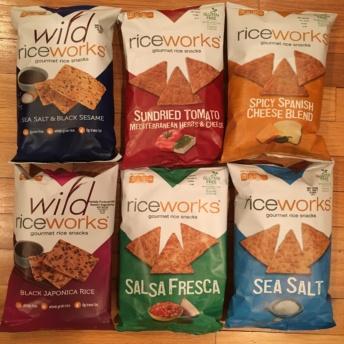 Gluten-free chips by Wild Riceworks