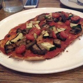 Gluten-free veggie pizza from Wild