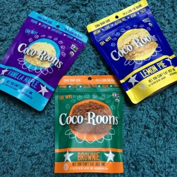 Gluten-free coco-roons from Wonderfully Raw