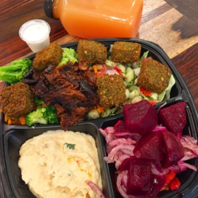 Gluten-free falafel from Wrapido